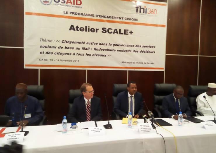 Atelier SCALE+ : La citoyenneté active dans la gouvernance des services sociaux de base au Mali