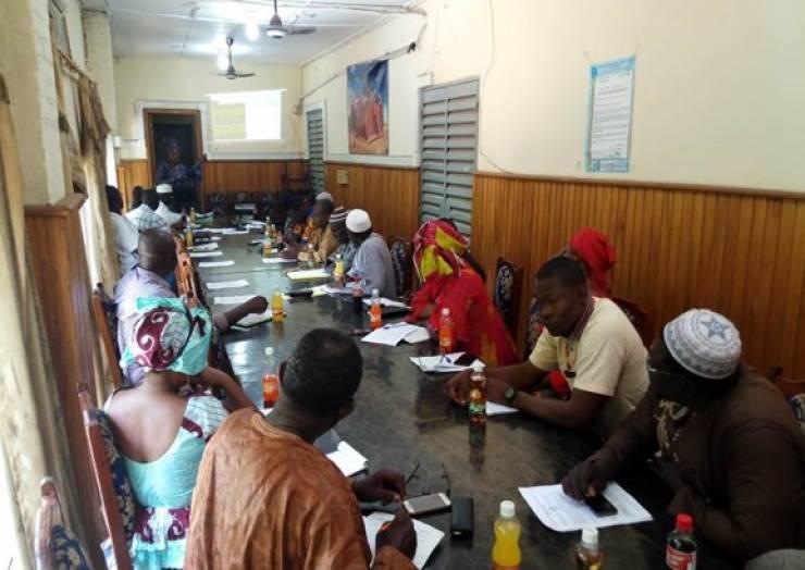 Assemblée Générale d'information sur le PCAR en commune III