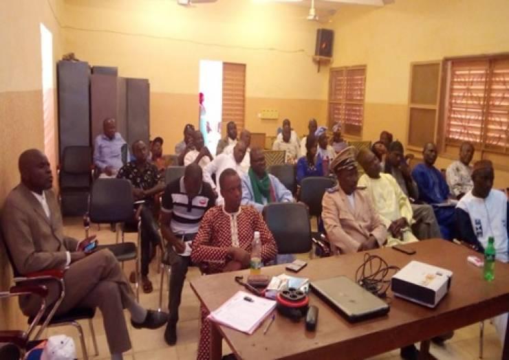 L'organisation des ateliers de marketing du PDSEC des  communes de Bandiagara et Dandoli dans le secteur WASH