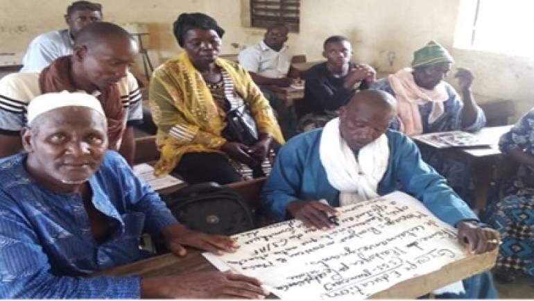 La formation de quatorze organisations communautaires de base