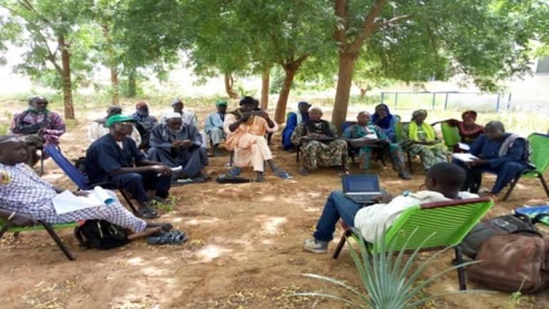 Activités de redynamisation de 22 OCB dans les communes